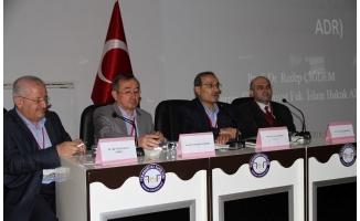 İslam hukukçuları toplantısı Urfa'da düzenlendi