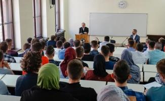 Mehmet Görmez, Bosnalı ilahiyat öğrencilerine ders verecek