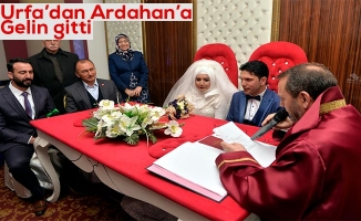 Müftü nikah kıydı belediye başkanı şahitlik yaptı