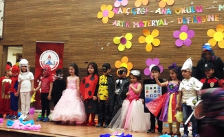 Şanlıurfa Nar Çiçeği Ana Okulundan Muhteşem Defile