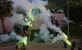 Şanlıurfaspor'a meşaleli destek