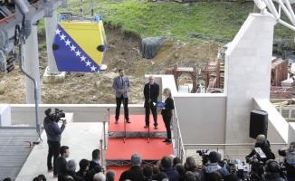 Saraybosna'nın sembollerinden teleferik yeniden açıldı
