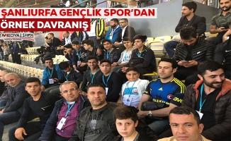 Şehit çocukları Fenerbahçe-Beşiktaş derbisini izledi
