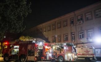 Sultan Abdülhamid Han Eğitim ve Araştırma Hastanesi'nde yangın