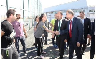 TTF Başkanı Şanlıurfa Tenis Dünyasına Hayran Kaldı