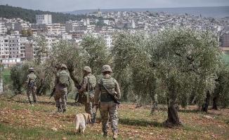 Afrin'de hendekler temizleniyor