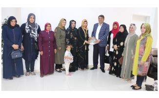 Akçakale AK Kadınlardan Başkan Ayhan'a ziyaret