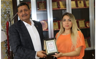 Başkan Özyavuz'a eğitime destek teşekkürü