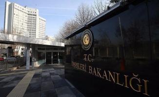 Dışişleri Bakanlığı'ndan Münbiç açıklaması