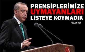 Erdoğan'dan aday kriteri açıklaması