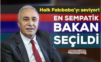 Fakıbaba en sempatik bakan seçildi