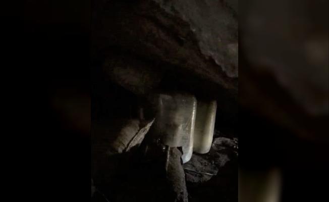 Hakurk'ta patlayıcı dolu mağara imha edildi