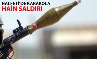 Halfeti'de Jandarma karakoluna roketli saldırı