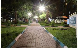 Haliliye'de parklar güvenli hale geliyor
