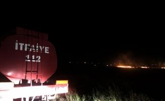 Hatay'da buğday tarlasında yangın