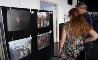 """Hollanda'da iftarda """"Gazze'nin hikayesi"""" sergisi açıldı"""