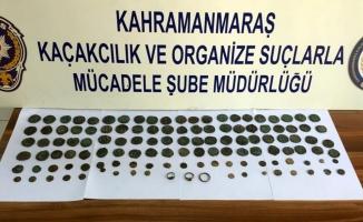 Kahramanmaraş'ta Roma ve Bizans dönemine ait sikke ele geçirildi