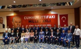 MHP İzmir milletvekili adaylarını tanıttı
