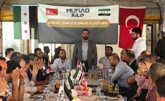 MÜSİAD heyeti Suriye'de