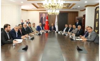 Siyasi Partilerle Seçim Güvenliği Toplantısı
