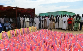 TDV'den Sudanlı 7 bin 500 kişiye yardım