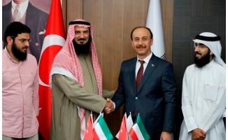 Türkiye-Kuveyt Dostluğu Urfa'da zirve yaptı