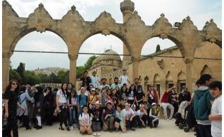Urfalı öğrenciler İstanbul'a hayran kaldı