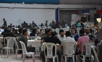 Afrin'deki aşiretler iftarda buluştu