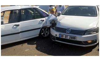 AK Parti Suruç İlçe Başkanı trafik kazasında yaralandı