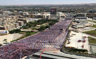 AK Parti'nin Şanlıurfa mitingine kaç kişi katıldı?
