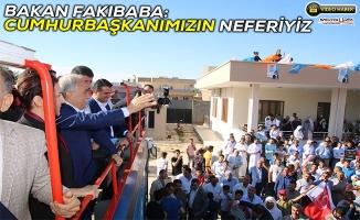 Bakan Fakıbaba Karaali'de