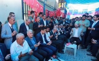Başbakan Yıldırım'dan AK Parti'li Yıldız'a taziye ziyareti