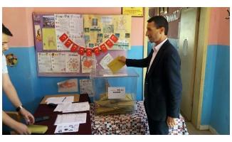 Başkan Cidir Oy Kullandı