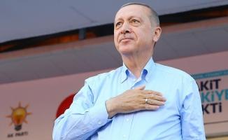 Erdoğan: Vakit Türkiye'yi ulaştırmada lider yapma vakti