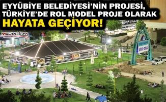 Eyyübiye'nin projesi Türkiye'de örnek proje oluyor