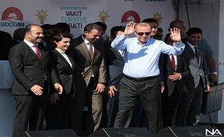 Fotoğraflarla AK Parti'nin Şanlıurfa mitingi