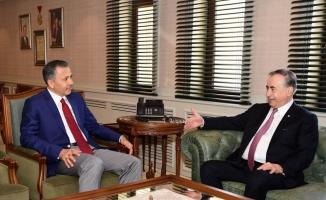Galatasaray Kulübü Başkanı Cengiz, Gaziantep'te