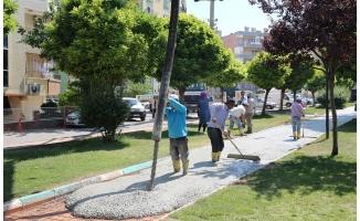 Haliliye'de parklar yaşam alanlarına dönüşüyor
