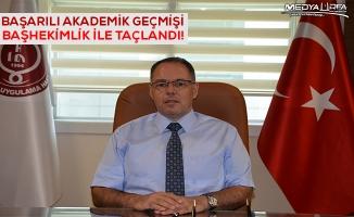 Harran Tıp'ın Yeni Başhekimi M.Akif Altay Oldu