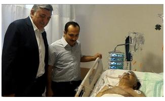 Hastanede kriz geçiren doktora anında müdahale