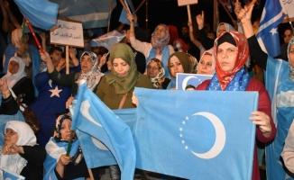 Kerkük'te Türkmenlerin seçim protestosu