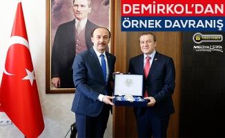 Necati Demirkol'dan eğitime büyük destek