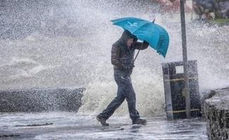 Siverek'te sağanak yağış etkili oldu