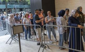 Türklerin ABD'de oy verme işlemi sona erdi