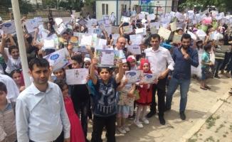 Urfa'da 73 bin Suriyeli öğrenci karne aldı