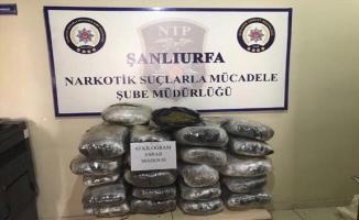 Urfa'da uyuşturucu operasyonu: 5 kişi tutuklandı