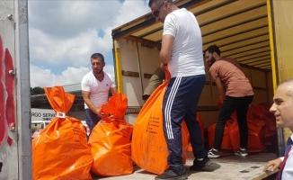 Yurtdışında kullanılan oylar Türkiye'ye gönderildi