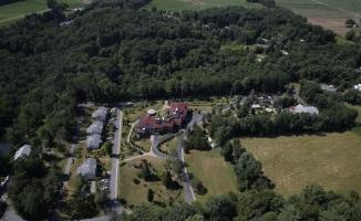 Pensilvanya'daki FETÖ kampını havadan görüntülendi