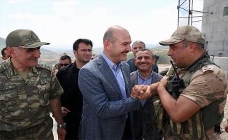Bakan Soylu, Tunceli'de güvenlik kulesini ziyaret etti