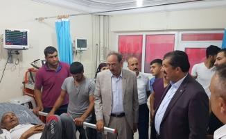 Başkan Atilla, tedavi gören hastalara şifa diledi